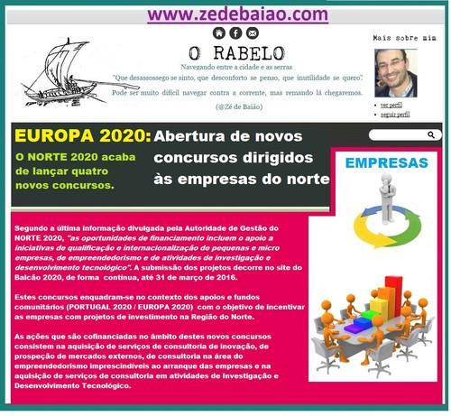 EUROPA 2020_Novos concursos Empresas Norte 2020.jp