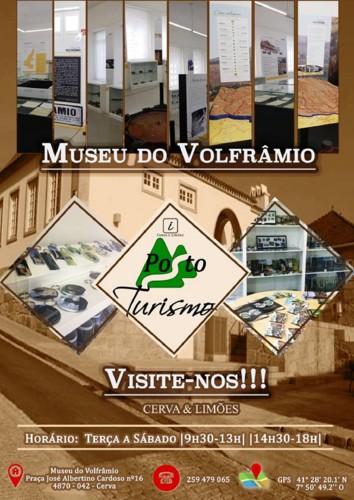 Vila de Cerva - Museu do Volfrâmio - Posto de Tur