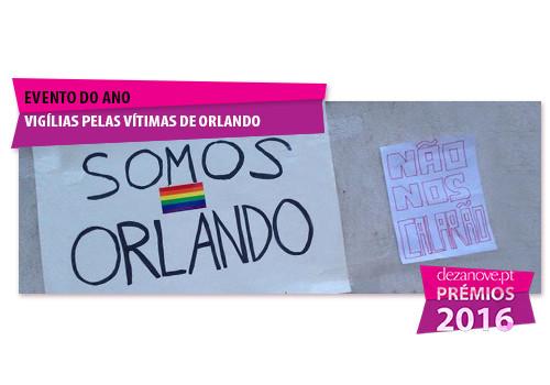 Evento do Ano - Vigílias pelas vítimas de Orland