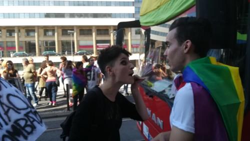 Protestos Marcha do Orgulho LGBT do Porto