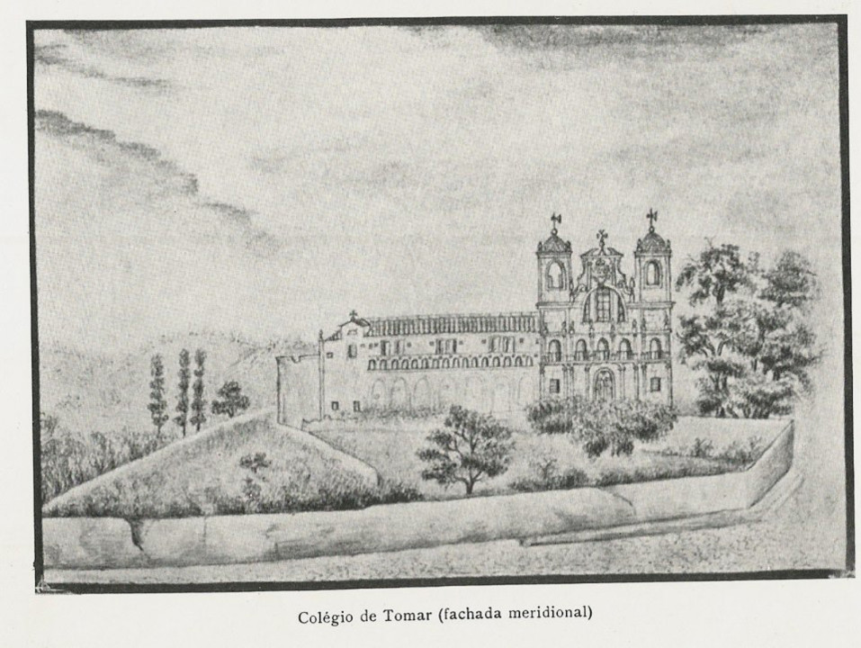 Colégio de Tomar. Fachada Meridional. Desenho.jpg