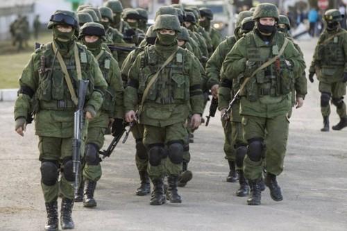 Soldados Russos na Crimeia