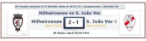 Juniores B.Milheiroense 2 SJVer 1