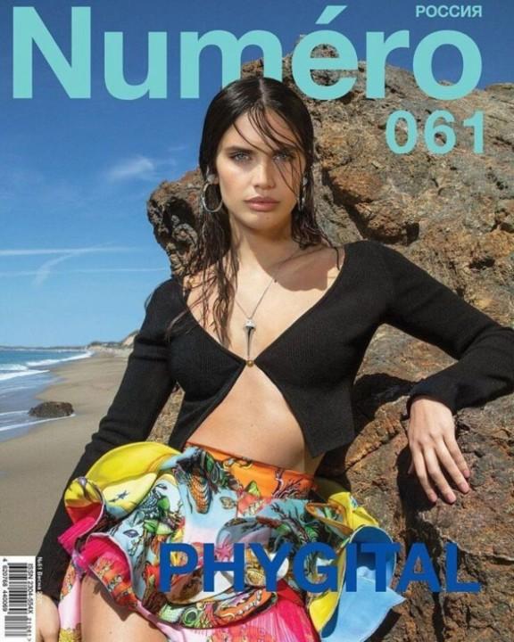 Sara Sampaio 703 (capa Numéro Rússia - abril 202