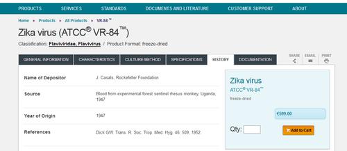 Zika ATCC