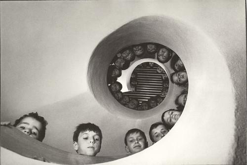 Martine Franck. Bibliothèque pour enfants, Clamar