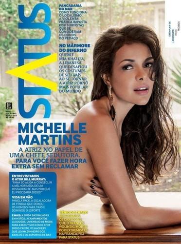 Michelle Martins capa