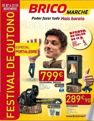 Novo Folheto | BRICOMARCHÉ | Portalegre especial S. Martinho, de 7 a 23 novembro, com Oferta do Valor do IVA apenas hoje