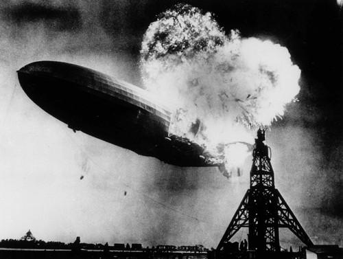 The Hindenburg Disaster, Sam Shere, 1937.jpg