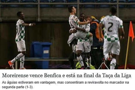 Moreirense 3 - 1 Benfica Taça da Liga 27Jan2017.j