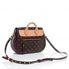 BW63734-LOUIS VUITTON monogram eden mm bordeaux _c