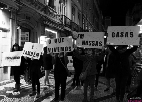 Marcha pelo Fim da Violência Contra as Mulheres - foto: Inês Costa Monteiro