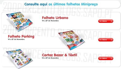 Novos Folhetos | MINI PREÇO | Já Online, de 14 a 27 novembro