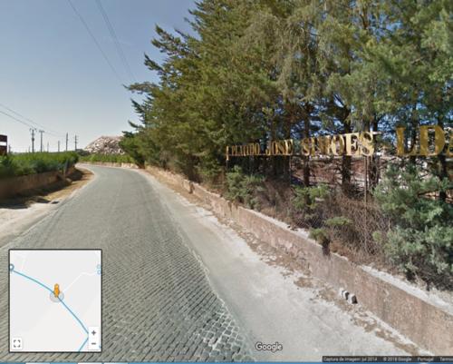 Estrada das pedreiras_Estremoz-Borba_imagem Google
