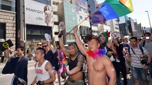 foto retirada de japantimes_ gay pride tokyo 2014.