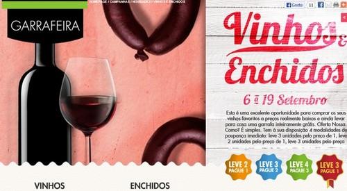 Folheto Vinhos e Enchidos