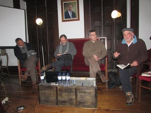 Esser Jorge, Salgado Almeida, Miguel Salazar e Padre Mário
