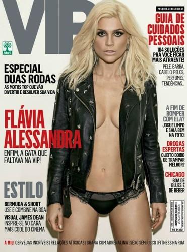 Flávia Alessandra capa