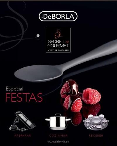 Novo Catalogo / folheto   DEBORLA   Especial festas