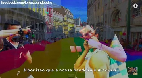 Coming Out Lorenzo e Pedro Video Lisbon Parade Clo