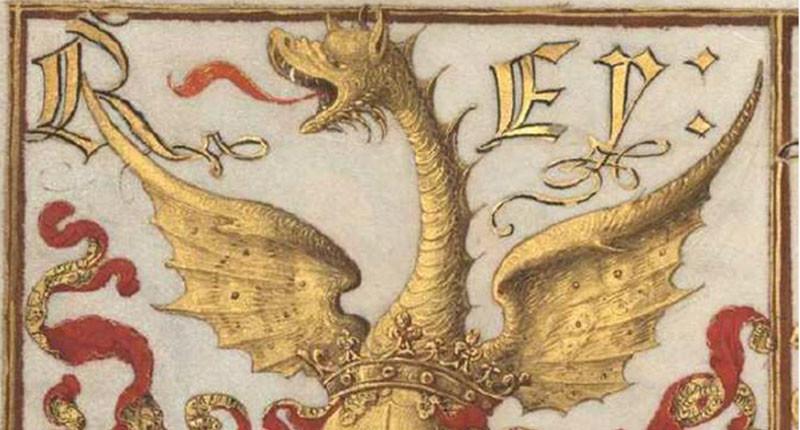 Figura 16 — Timbre do brasão-de-armas do rei de
