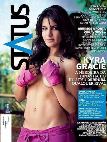 Kyra Gracie capa
