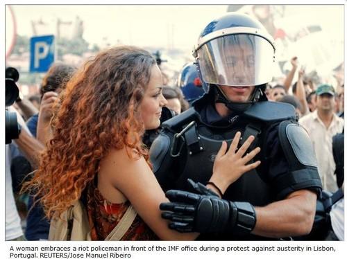 Sinais de paz em Lisboa