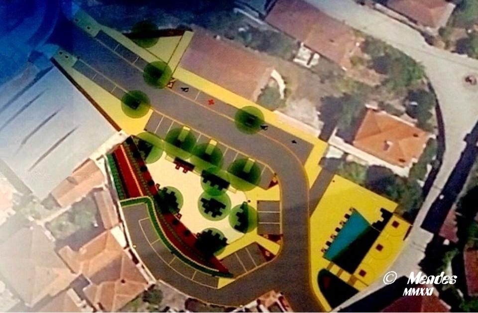 Vila de Cerva - Requalificação do Largo da Centro de Saúde.