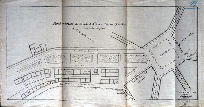 Fig. 36. O Theatro-Circo (Teatro Avenida) erguia-s