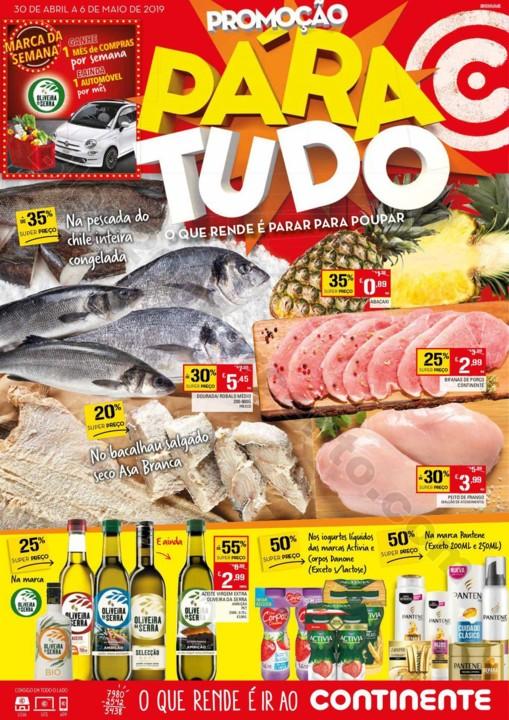 Antevisão Folheto CONTINENTE Promoções de 30 ab