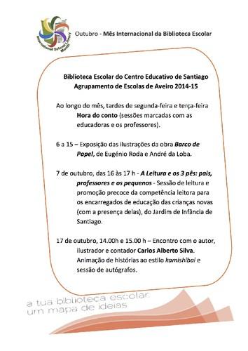 Programa do Mês Internacional da Biblioteca Escolar