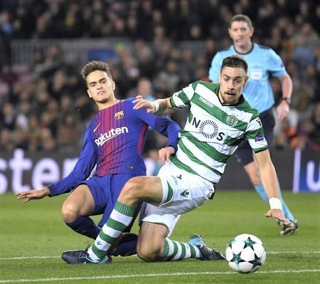 Sebastian+Coates+FC+Barcelona+v+Sporting+CP+05pmTH