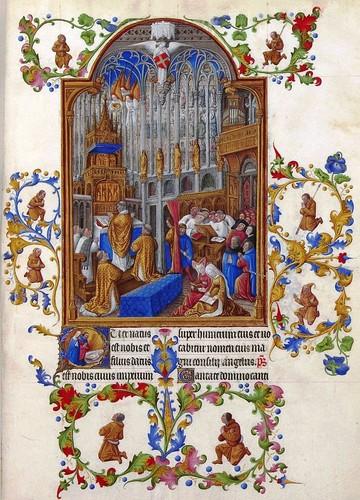 Livro de Horas do Duque de Berry retratando o Nasc