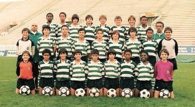SCP infantis 1988-89 com César Nascimento e Osval