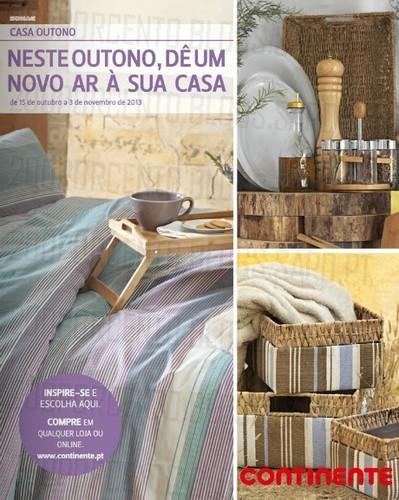 Novo Folheto   CONTINENTE   Casa Outono, de 15 Outubro a 3 Novembro