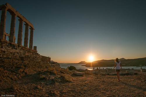 Cabo Sounion, Grécia