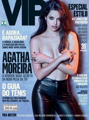 Agatha Moreira capa