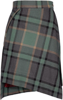 Green Tartan Mini Case Skirt.jpg