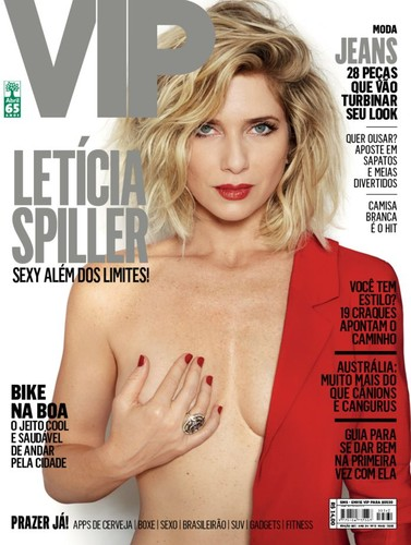 Letícia Spiller capa