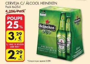 Acumulação 25% + Vale | PINGO DOCE | Heineken