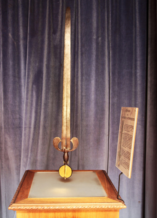 Espada dita de D. Afonso Henriques, último quarte
