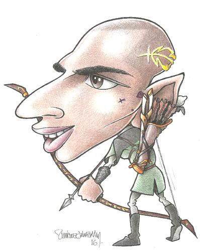 Legolas Quaresmer, Príncipe dos Elfos Ciganos