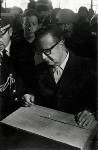Salvador Allende 1973