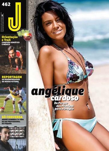 Angélique Cardoso capa
