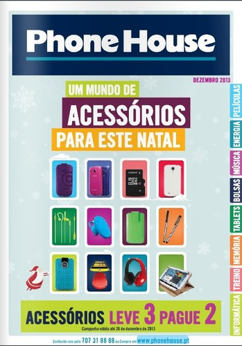 Novo Catalogo - Folheto | PHONE HOUSE | até 26 dezembro