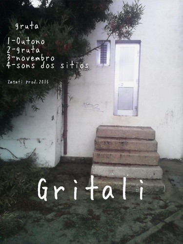 "Capa do CD/EP ""Gruta"" de Gritali"