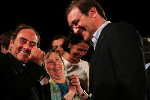 Paulo Portas, Maria Luís Albuquerque e Pedro Pass