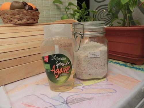 Geleia de Agave e Farinha integral