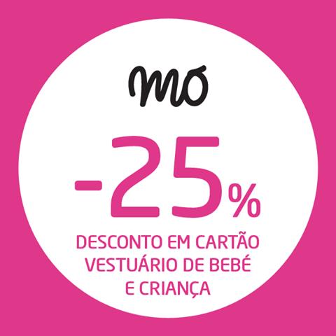 25% de desconto | MODALFA | até 8 dezembro