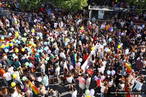 Marcha do Orgulho LGBTI de Lisboa 2016 - Foto de Pedro Lima